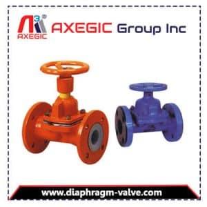 EPDM Lined Diaphragm Valve Manufacturer, Supplier and Exporter in Gujarat, India