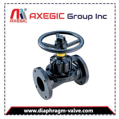 Buy International Quality Material and Affordable Price Manufacturer, Supplier and Exporter of Rubber Lined Diaphragm Valve in Ahmedabad